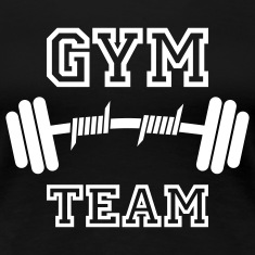 GYM TEAM | Fitness | Body Building | Hantel | Dumbbell T-Shirts