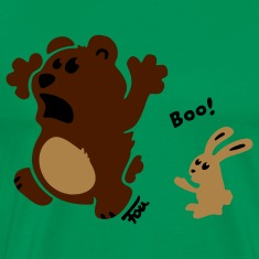 bear & bunny - colored T-Shirts