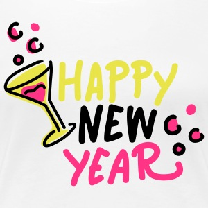 happy new year 3 T-Shirts - Frauen Premium T-Shirt