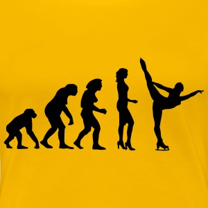 evolution_eiskunst_c_1c T-Shirts - Frauen Premium T-Shirt