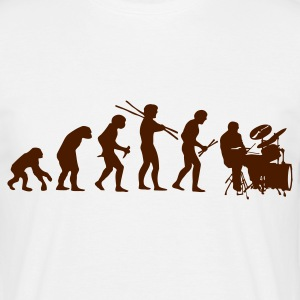 Evolution Drums Music - Männer T-Shirt