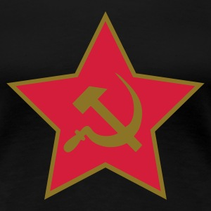 Communism,  - Frauen Premium T-Shirt