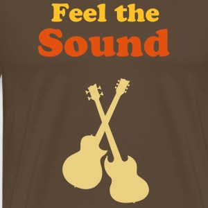 Feel the Sound - Männer Premium T-Shirt