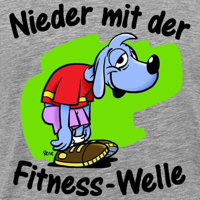 Die Fitnesswelle