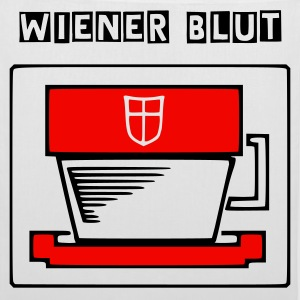 Wiener Blut - t-activista! The White Bag - Stoffbeutel