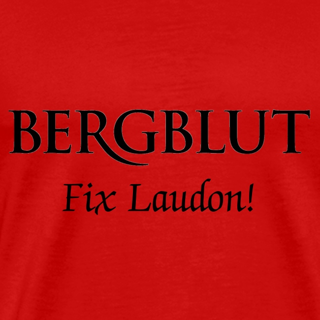 Bergblut Fix-Laudon T-Shirt!