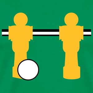 table football two players T-shirts - T-shirt Premium Homme
