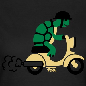 Schildkröte Moped - colored T-Shirts - Frauen T-Shirt