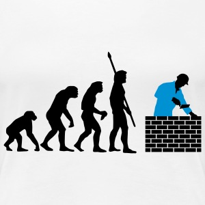 evolution_maurer_a_2c T-Shirts - Frauen Premium T-Shirt