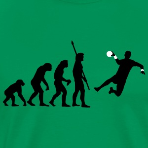 evolution_handballer_c_2c T-Shirts - Men's Premium T-Shirt