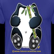 Motif ~ Panda homme bleu royal