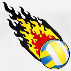 Fireball Volleyball Belgien - Frauen Premium T-Shirt