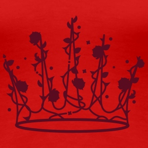 Sleeping Beauty crown of roses and thorns T-Shirts - Women's Premium T-Shirt