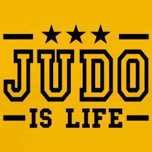 judo is life deluxe T-Shirts - Men's Premium T-Shirt