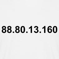 Ontwerp ~ IP 88.80.13.160 (zwarte opdruk)