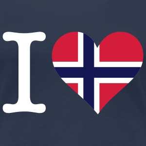 I Love Norway 1 (3c) T-Shirts - Women's Premium T-Shirt
