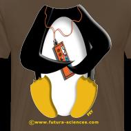 Motif ~ Pingouin homme marron bistre
