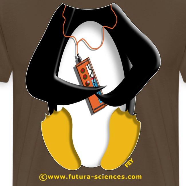 Pingouin homme marron bistre