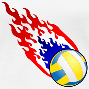 Fireball Volleyball Holland - Premium-T-shirt dam