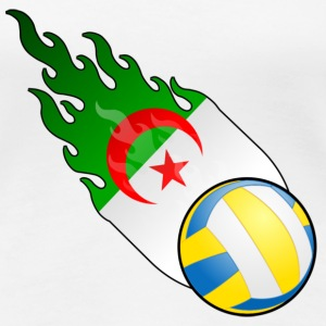 Fireball Volleyball Algerie - Premium T-skjorte for kvinner