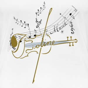 Noten T-Shirts - Frauen Premium T-Shirt