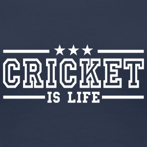 cricket is life deluxe T-Shirts - Women's Premium T-Shirt