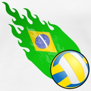 Fireball Volleyball Brasil  - Women's Premium T-Shirt