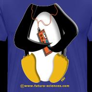 Motif ~ Pingouin homme bleu royal