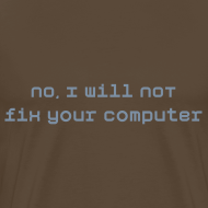 Ontwerp ~ I will not fix your pc