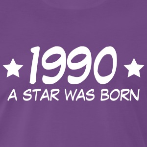 1990 - A Star is born T-Shirts - Männer Premium T-Shirt