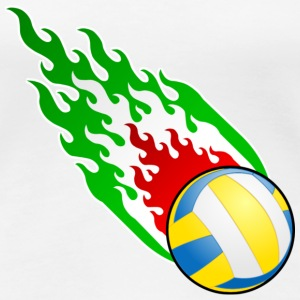 Fireball Volleyball Italy - Women's Premium T-Shirt