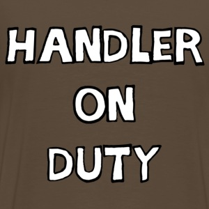 T-shirt homme handler on duty - T-shirt Premium Homme