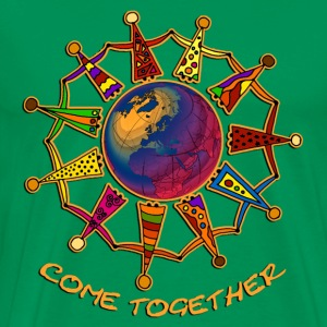 Come Together People 3 | Männershirt XXXL - Männer Premium T-Shirt