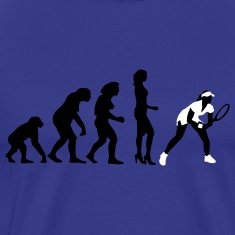 evolution_female_tennis_2c T-Shirts