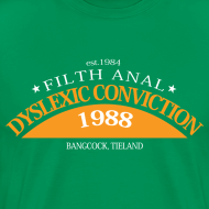 Ontwerp ~ Dyslexic Convention '88 - Text rear
