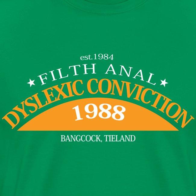Dyslexic Convention '88 - Text rear