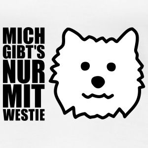 West Highland White Terrier T-Shirts - Frauen Premium T-Shirt