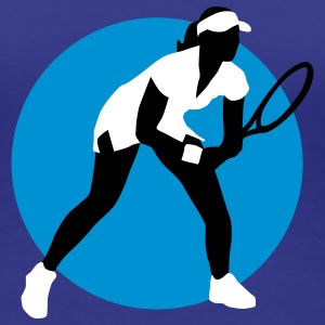 tennis_female_g_3c T-shirts - Vrouwen Premium T-shirt