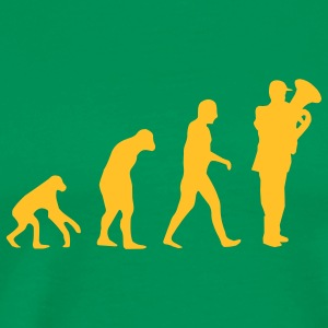 tuba evolution T-Shirts - Men's Premium T-Shirt