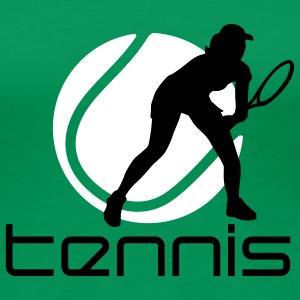tennis_female_b_2c T-Shirts - Women's Premium T-Shirt