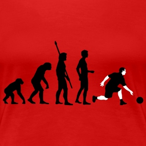evolution_bowling_player_2c Camisetas - Camiseta premium mujer
