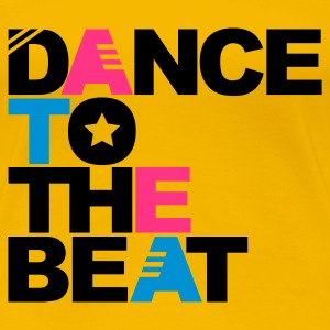 Hellrosa Dance to the Beat T-Shirts - Frauen Premium T-Shirt