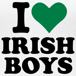 I love Irish Boys T-Shirts - Frauen Premium T-Shirt
