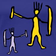 Design ~ Two Funny Trolls Lady Shirt