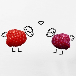 raspberries in love - Frauen Premium T-Shirt
