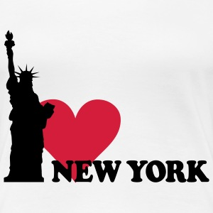 I love New York - NY T-Shirts - Frauen Premium T-Shirt
