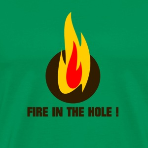 Fire in the hole ! - Männer Premium T-Shirt