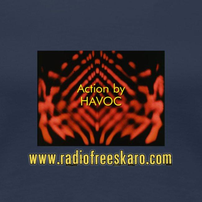 Action by HAVOC (Plus Size T-Shirt)