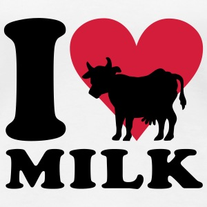 I love Milk T-Shirts - Women's Premium T-Shirt