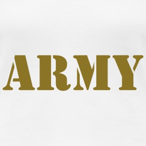 Army T-Shirts - Frauen Premium T-Shirt